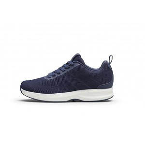 Gaitline Track Knit Navy/White