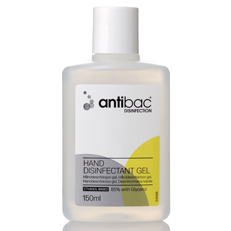 ANTIBAC 85% 150 ml GEL HÅNDDESINF.