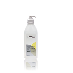 ANTIBAC 85% HÅNDDESINF GEL M/PUMPE 600ML