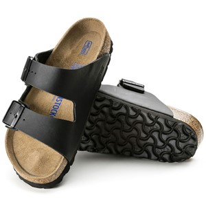 Birkenstock Arizona normal myk-såle svart